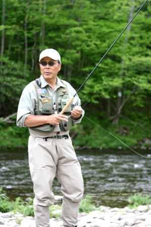 Dr. Ishigaki in the Catskills