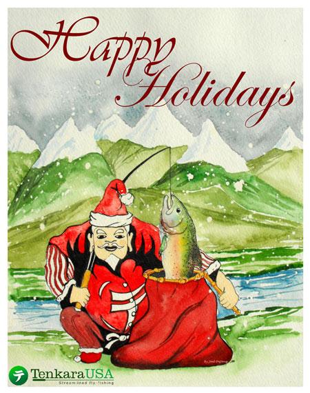 Tenkara Christmas image