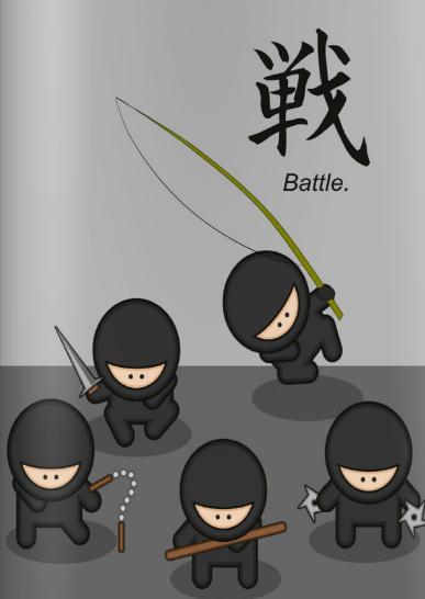 Tenkara ninja fly fishing