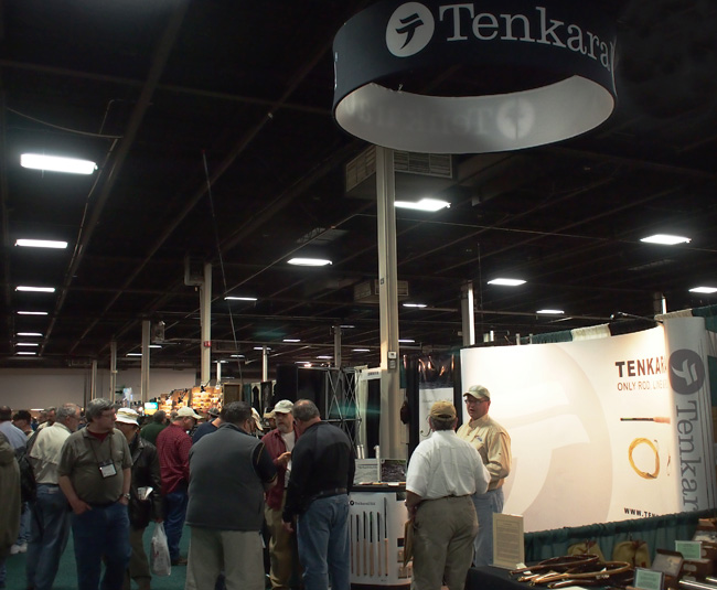 Tenkara USA Booth at Fly Fishing show