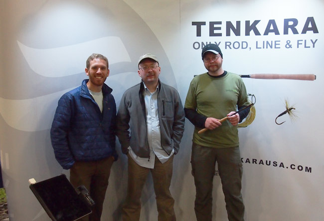 Tenkara USA Booth at the Wasatch Fly Fishing Show