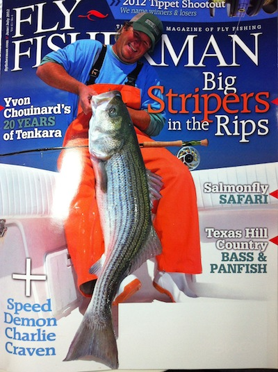 Fly Fisherman magazine features tenkara by Yvon Chouinard