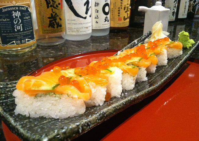 Tenkara Roll sushi