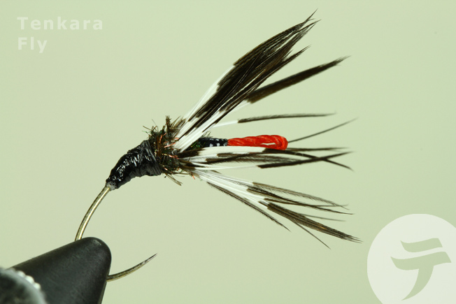 Tenkara fly tied by Mr. Takashi Yoshida