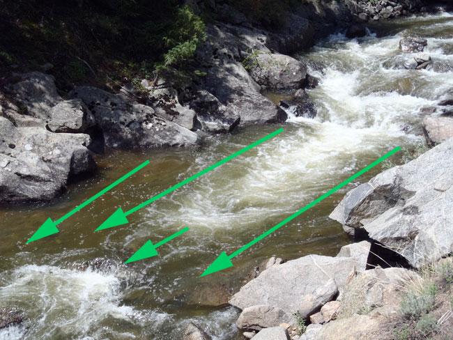 How to fish whitewater runs