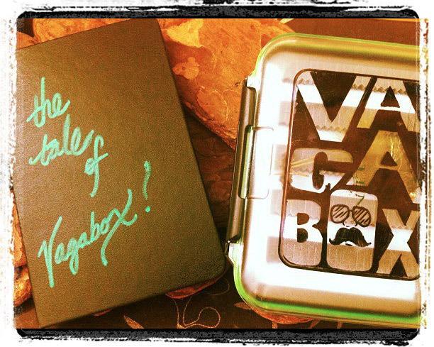 Vagabox the traveling tenkara fly box