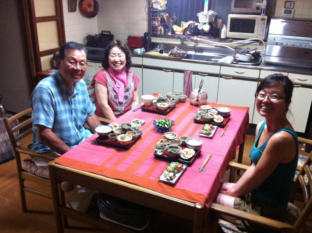 Dinner with Dr. Ishigaki and his wife