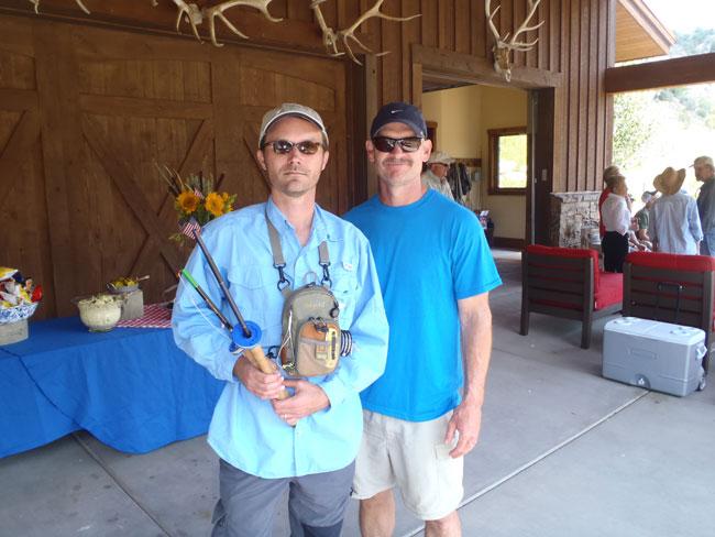 Jason Klass & Mark Heminghous at the Red Draw Ranch