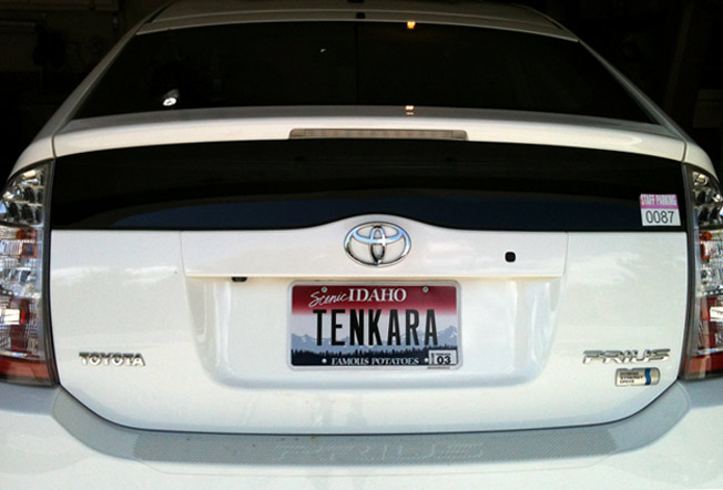 John Ellsworth Idaho Tenkara License Plates