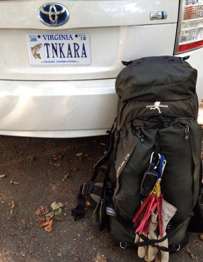 John Fuller Tenkara license plates in Virginia