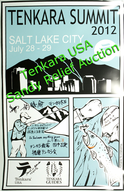 Tenkara Summit 2012 Signed Poster