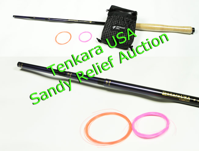 Tenkara USA prototype set for Sandy Relief Auction