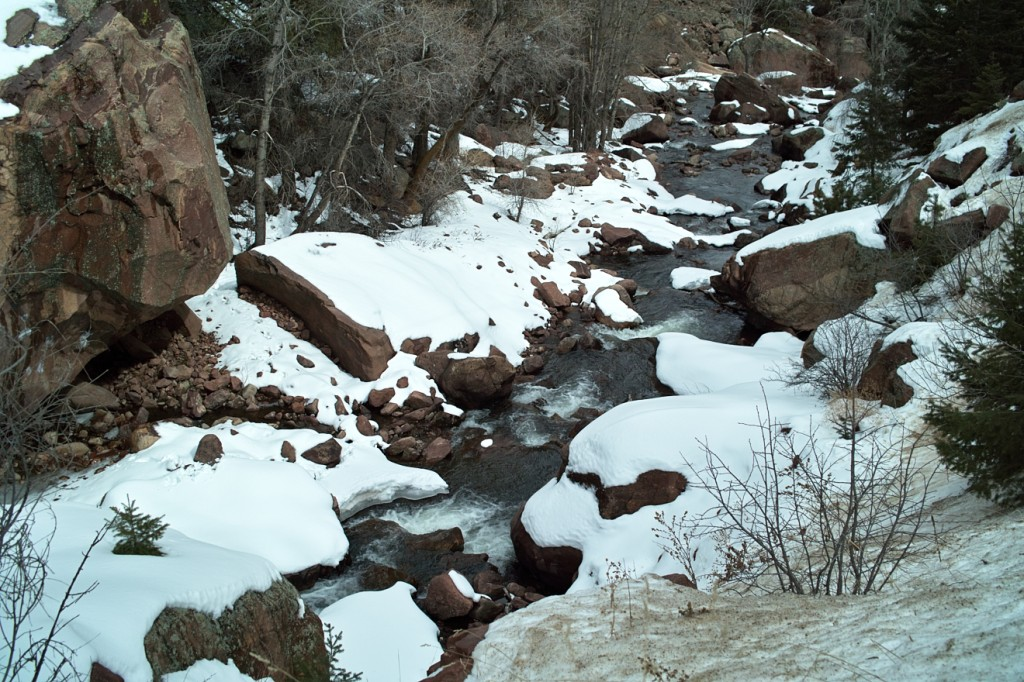Tenkara Fly-fishing on South Boulder Creek