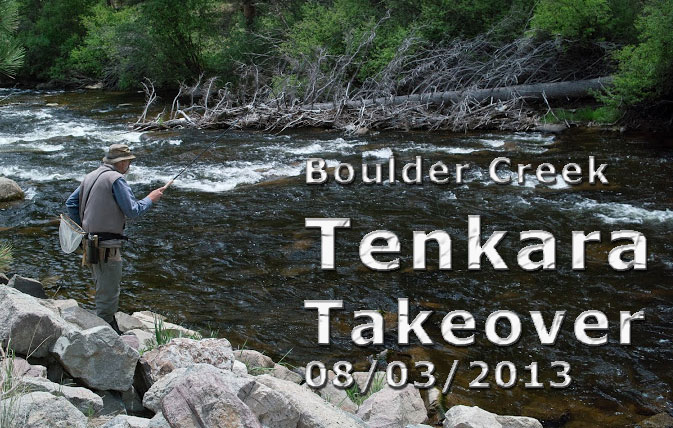 Boulder Creek tenkara