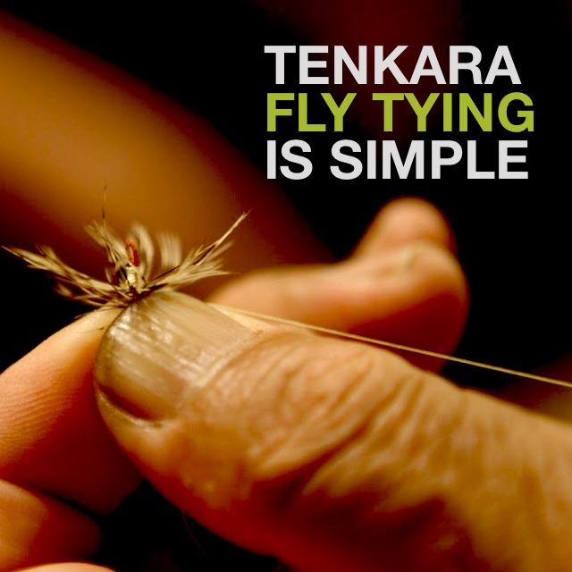 Tenkara Fly Tying is Simple
