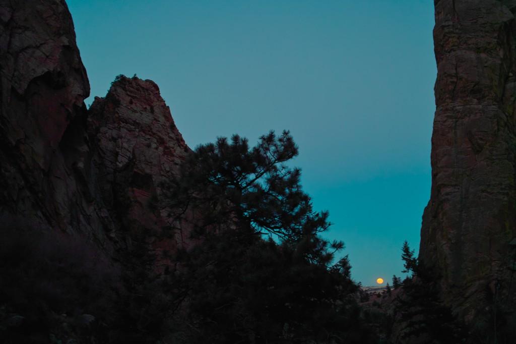 South Boulder creek Eldorado Canyon