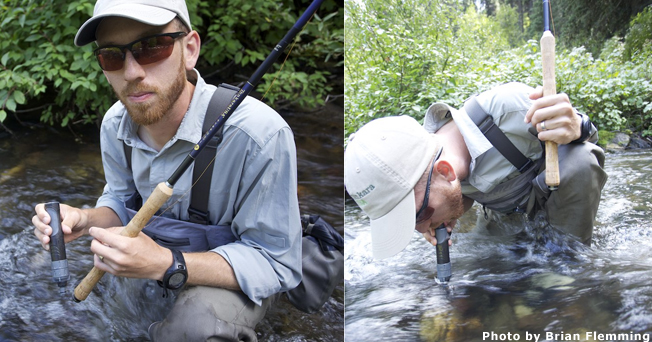 Water Filtration and tenkara fishing