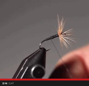how to tie a Tenkara fly - tying the ishigaki kebari