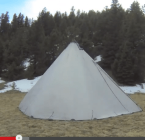 Video of backpacking and tenkara