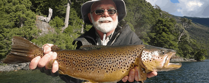 Chime lodge Brown Trout Argentina tenkara