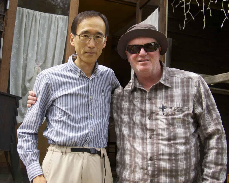Adam Trahan and Satoshi Miwa Tenkara Fisher