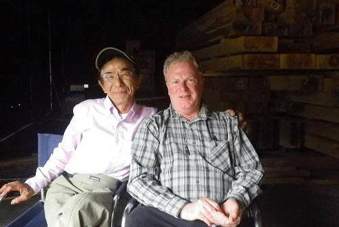 Adam Trahan and Masami Sakakibara