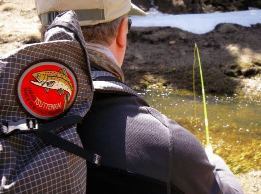 Adam Trahan tenkara fishing