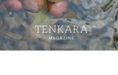 Tenkara Magazine cover mockup
