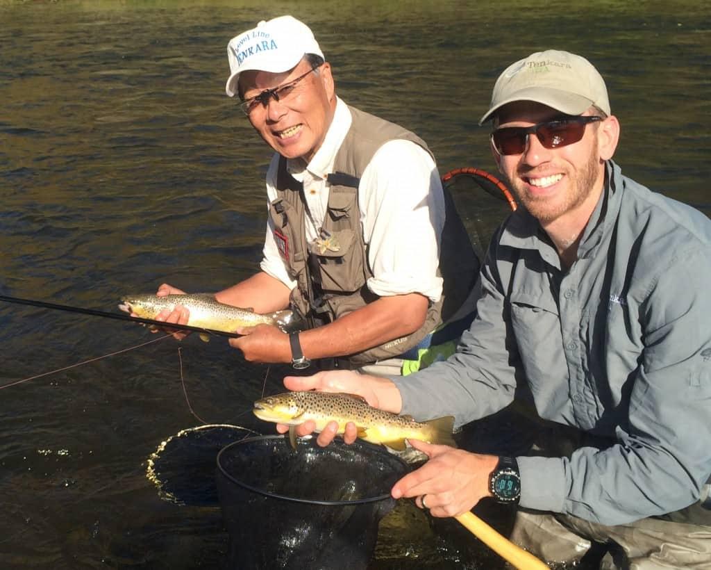 Dr. Ishigaki and Daniel Galhardo in Colorado