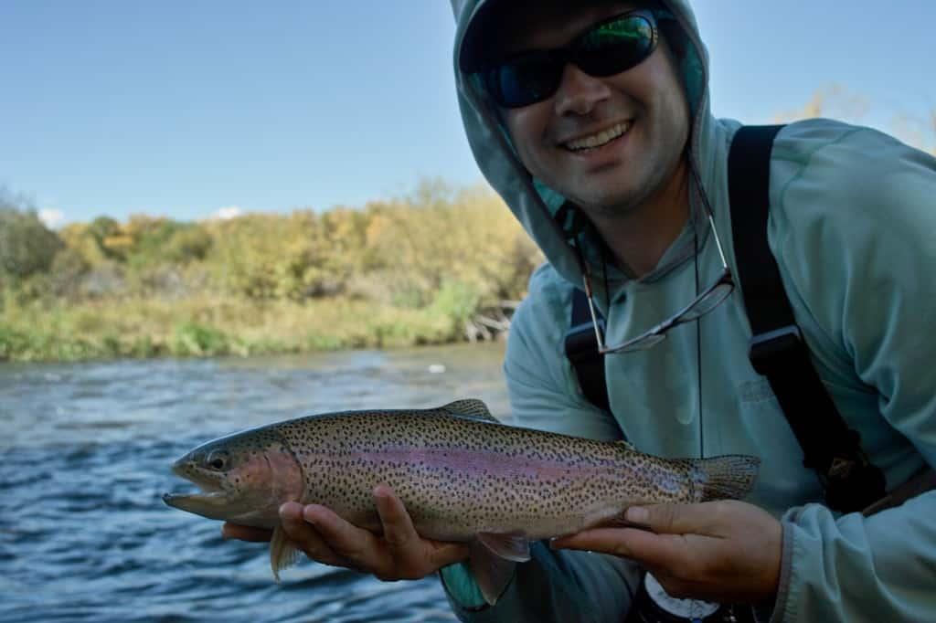 Tenkara Guides fishing the Colorado river