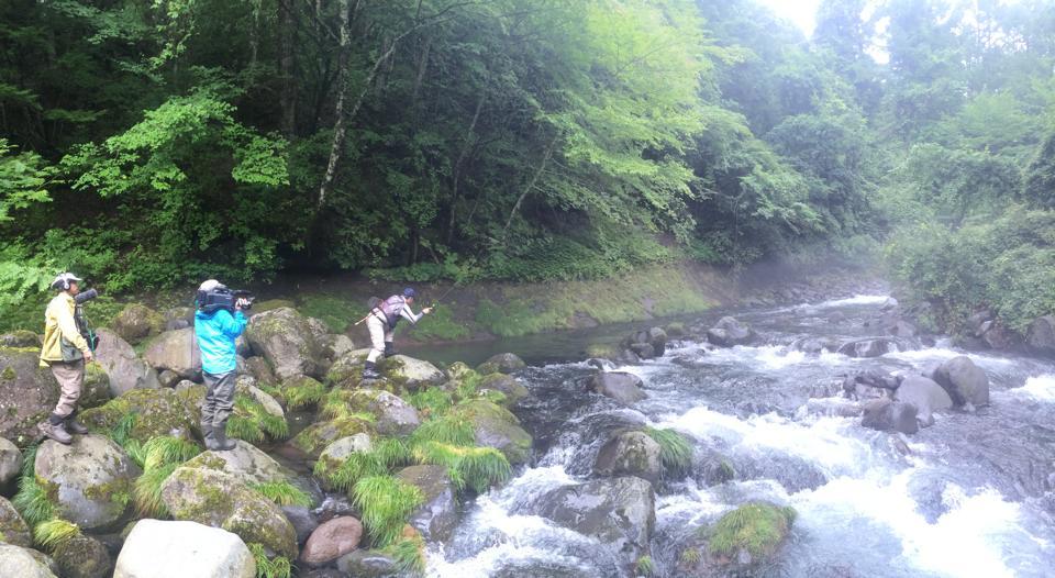fishing filiming ishigaki