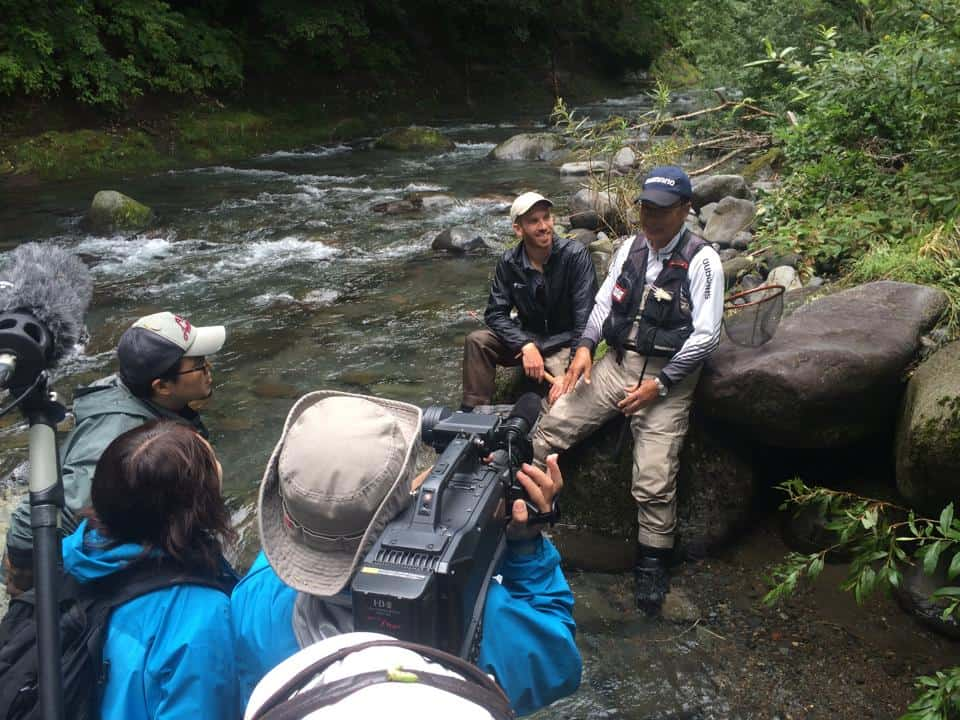 fishing filming