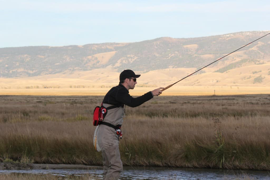 Scott Hunter of Vedavoo tenkara fishing