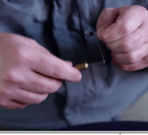 tenkara fly tying without a vise
