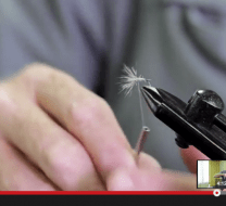 Tenkara fly-tying video with Malcolm Daly