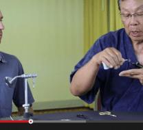 Tenkara fly-tying video with Daniel and Dr. Ishigaki