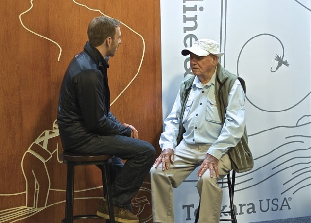 Lefty Kreh and Daniel Galhardo talk about tenkara