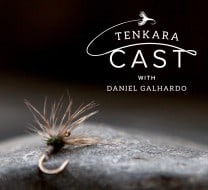 Simple flies - tenkara cast