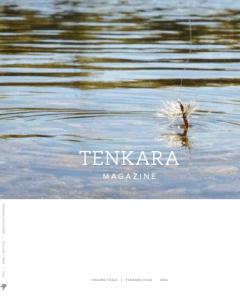 Tenkara Magazine 2016 cover mockup