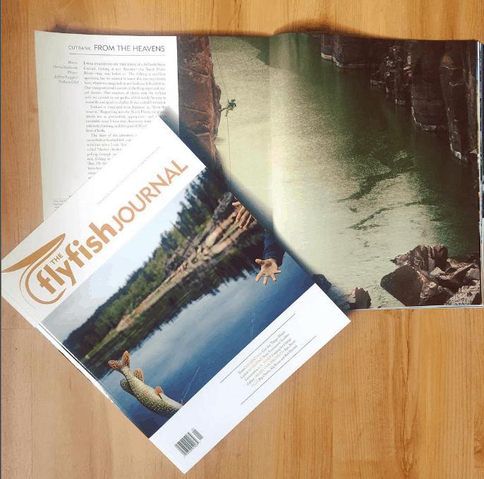 tenkara in the fly fish journal