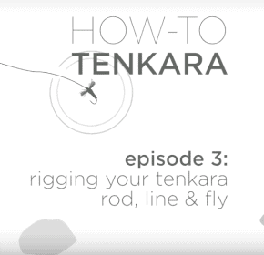 How to setup and rig your tenkara rod