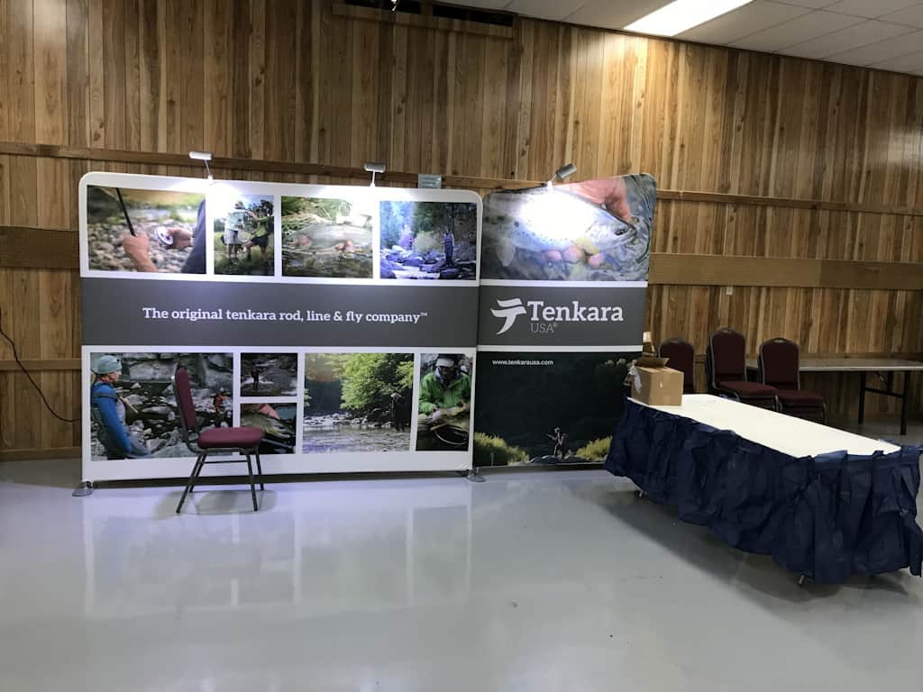 The Tenkara USA booth