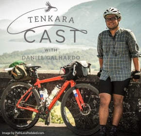 Path Less Pedaled tenkara fishing and biking bikefishing