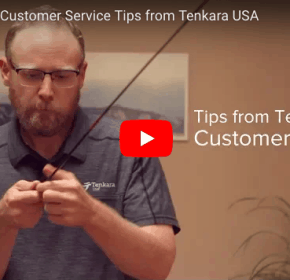 Tenkara rods customer service tips