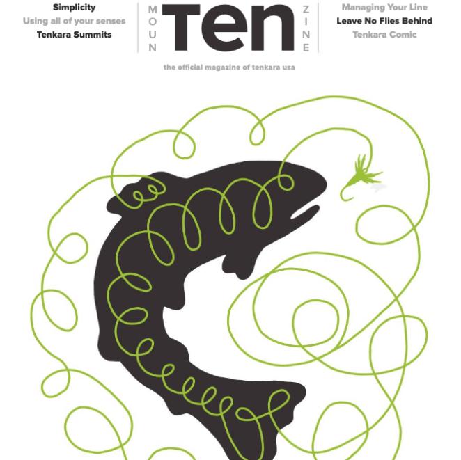 Tenkara ezine, MounTen, issue 6, March 2019