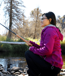 Margaret Kuwata Japan Tenkara USA