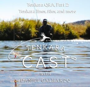 Questions about Tenkara Flies, tenkara lines and more