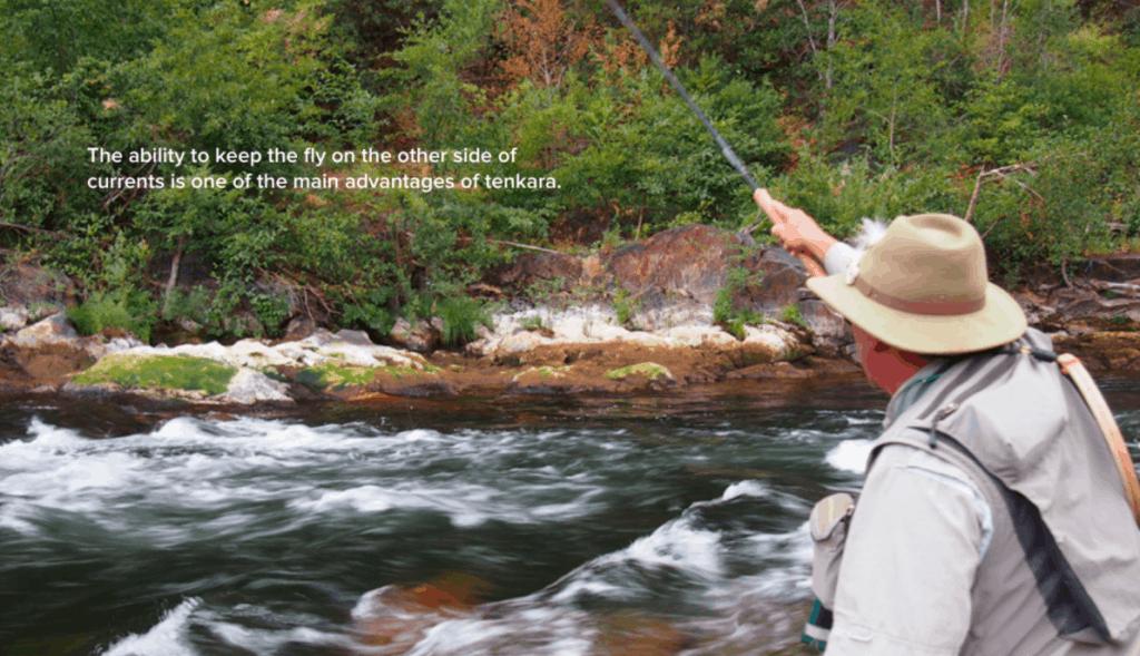 Sierra tenkara fishing with Ito rod