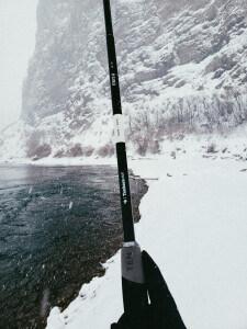 How to Winter Tenkara Fishing